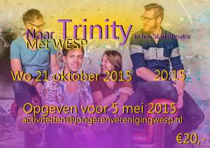 Naar Trinity met WESP