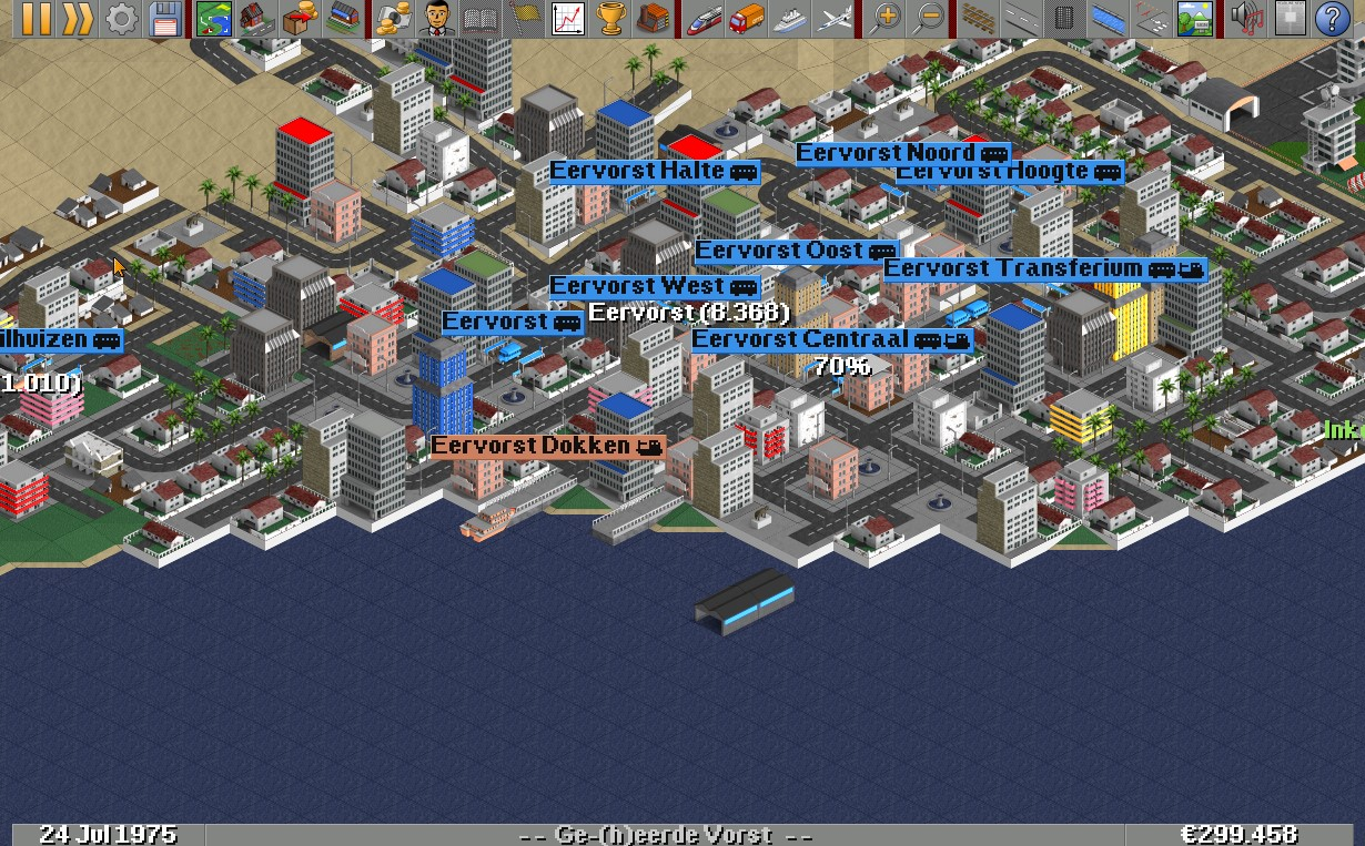 Openttd lanparty 27-02-2021